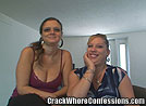 Two Hooker Sisters Sharing a Blowjob